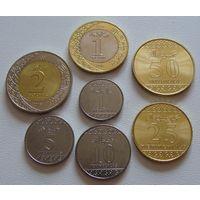Саудовская Аравия. набор 7 монет 1, 5, 10, 25, 50 халала 1, 2 реала 2016(1438) год