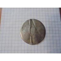 Серебряная крышка для швейцарских часов