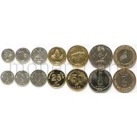 Мальдивы 7 монет 2008-2017 годов.