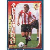 Карточка футбол Герреро (Guerrero) Атлетик Бильбао