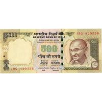 Индия, 500 рупий обр. 2014 г., UNC