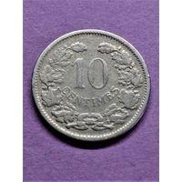 Люксембург 10 сантимов 1901