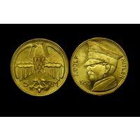 5 рейхсмарок 1935 Рейх Адольф Гитлер бронза копия