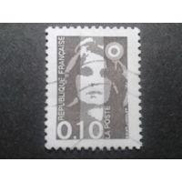 Франция 1990 стандарт 0,10