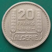 20 франков 1949 АЛЖИР Французский протекторат