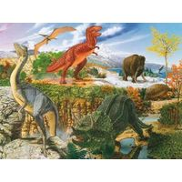 Паззл  Динозавры,300 эл. Равенсбургер(Германия)