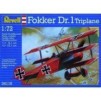 Сборная модель Самолет Revell Fokker DR.1  , 04116