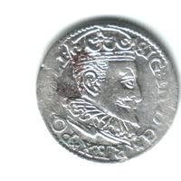 3 гроша 1596 Рига