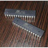 Микроконтроллеры  ATMEGA 8L новые