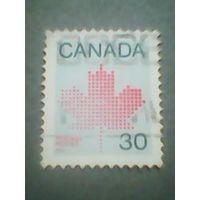 Канада. Стандарт. 1982г. гашеная