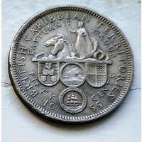 Восточные Карибы 50 центов, 1955 3-7-14