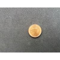 1 цент 2004г.