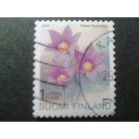 Финляндия 2001 стандарт, цветы