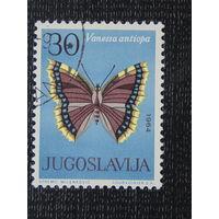 Югославия 1964г. Бабочки.