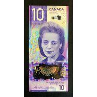 Канада 10 долларов 2018 года. Нечастая! Состояние UNC!