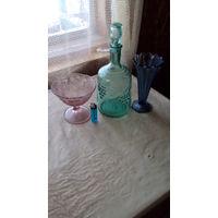 ГРАФИН И две вазочки СССР