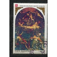 Живопись. Богородица. Мальтийский Орден. 1983.