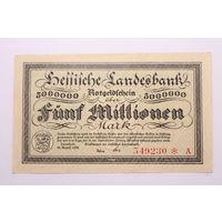 Германия (Mannheim), 5 000 000 марок 1923 год