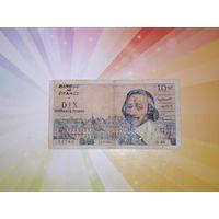 Франция 10 франков 1960г РЕДКАЯ