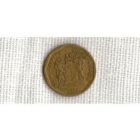 ЮАР  50 центов 1992 //флора///(ON)