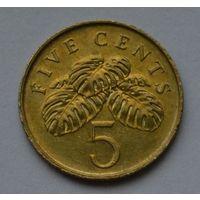 Сингапур 5 центов, 2005 г.