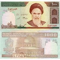 Иран 1000 риалов  2004 год  UNC