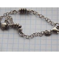 Женский браслет. (Серебро)