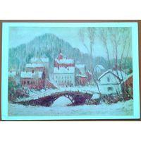 Клод Моне. Зимний пейзаж (Сандвикен).  1978 г.