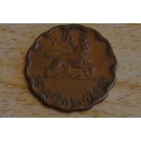 Эфиопия 25 центов 1944