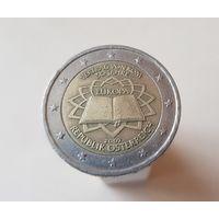 2 евро Австрия 2007 50 лет подписания Римского договора