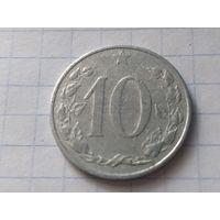 Чехословакия 10 геллеров, 1953