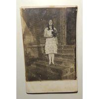 Старое польское фото, 30 - е г., зап. Беларусь