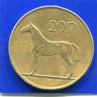 Ирландия 20 пенсов 1992