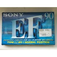Аудиокассета SONY C-90EFB новая