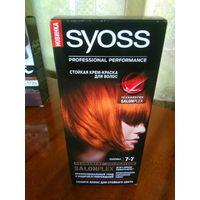 Стойкая крем-краска для волос SYOSS, цвет паприка