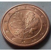 5 евроцентов, Германия 2014 J, AU