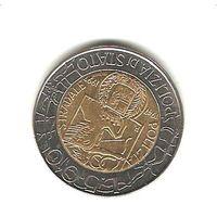 500 лир 1997 г.