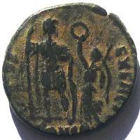 РИМ. АРКАДИЙ (395-408 г.) АЕ3.