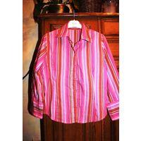 Рубашка женская розовая