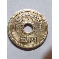 Япония 5 йен 1966