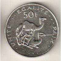 Джибути 50 франк 2010