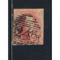 Бельгия Кор 1851 Леопольд I Стандарт #5Ву