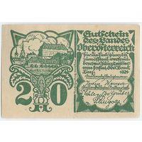 Австрия, Нотгельд 20 Heller 1921 год.