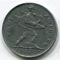 Ng ЦВИЗЕЛЬ - 20 ПФЕННИГОВ 1920