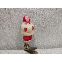 Ребенок с комом из серии Зима ёлочная игрушка Редкая