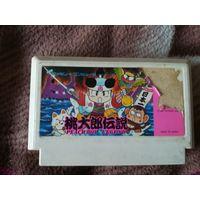Картридж для денди, Dendy, Сюбор, Lifa, 8 бит, 8 bit, Famicom  Momotarou Densetsu: Peach Boy Legend