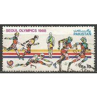 Пакистан. Олимпиада Сеул'88. 1988г. Mi#722.