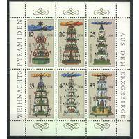 ГДР 1987 Mi# 3134-3139 (MNH**)