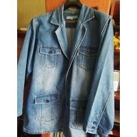 Джинсовый мужской пиджак (джинсовая куртка)