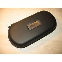 Большой кожаный Портсигар (XL) с молнией для Двух Электронных сигарет eGo, EVOD!